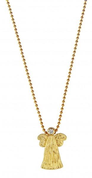"Collier ""Goldener Engel"""