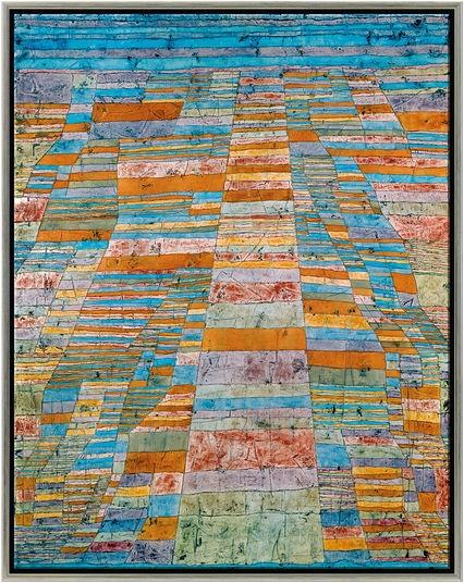 """Paul Klee: Bild """"Haupt- und Nebenwege"""""""