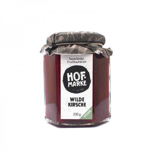 """""""Hofmarke"""" Wilde Kirsche Vegan - Fruchtaufstrich"""