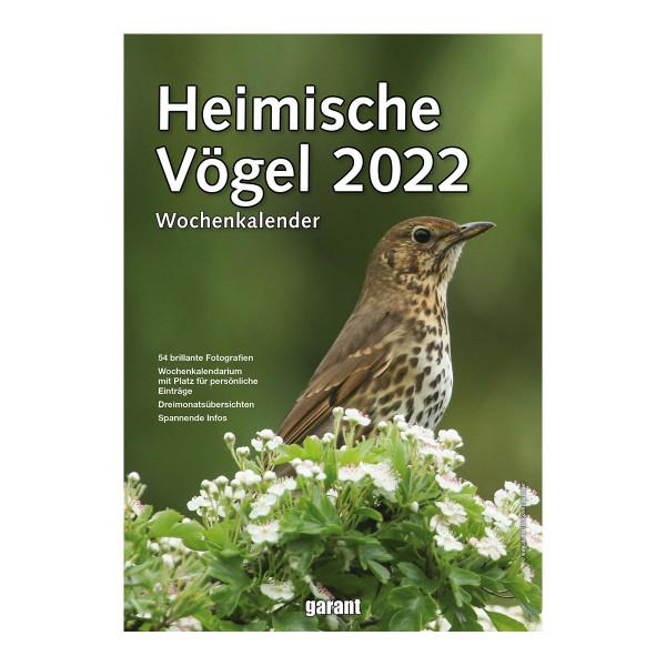 Heimische Vögel Wochenkalender 2022