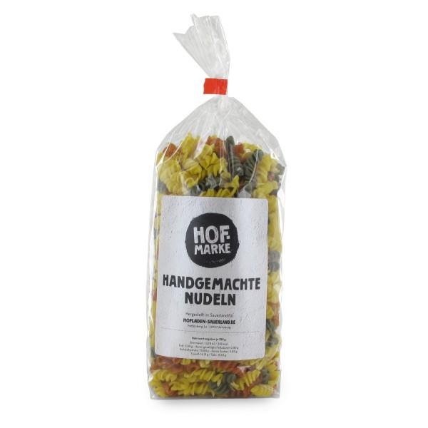 """""""Hofmarke"""" Spirelli Nudeln bunt"""