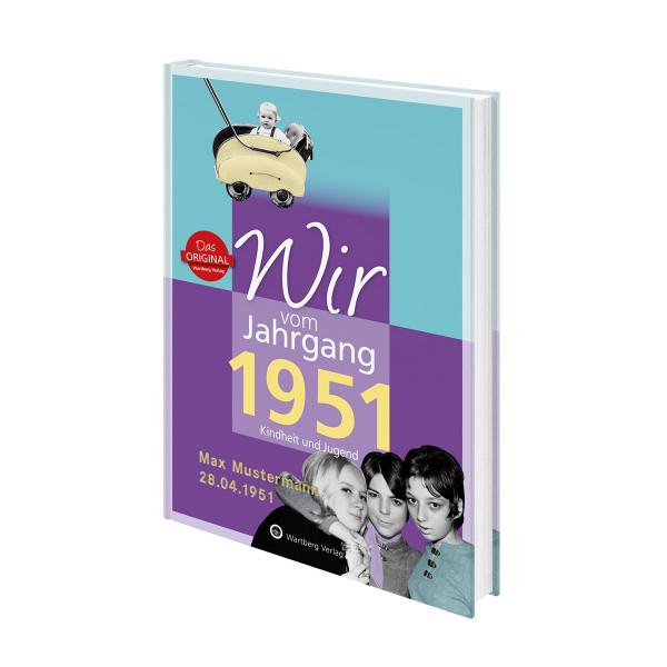 Personalisiertes Jahrgangsbuch BRD (1921 bis 2002)
