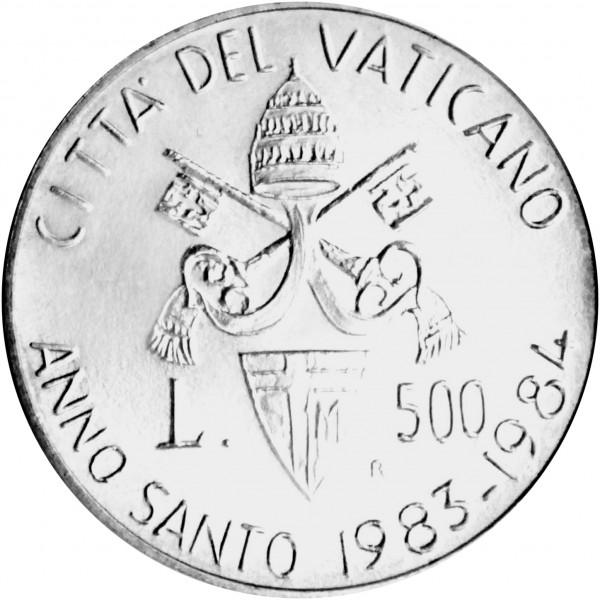 Sonderprägung Vatikanstadt - Silber