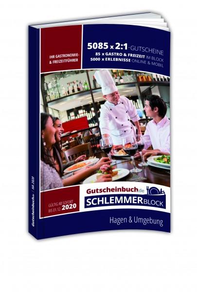 Hagen 2020 Gutscheinbuch.de Schlemmerblock