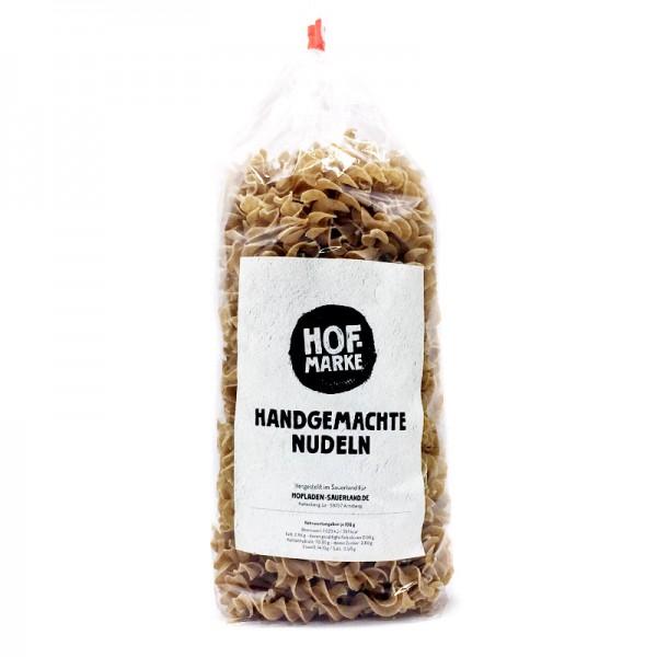 """""""Hofmarke"""" Dinkelvollwert Nudeln Spiralen"""
