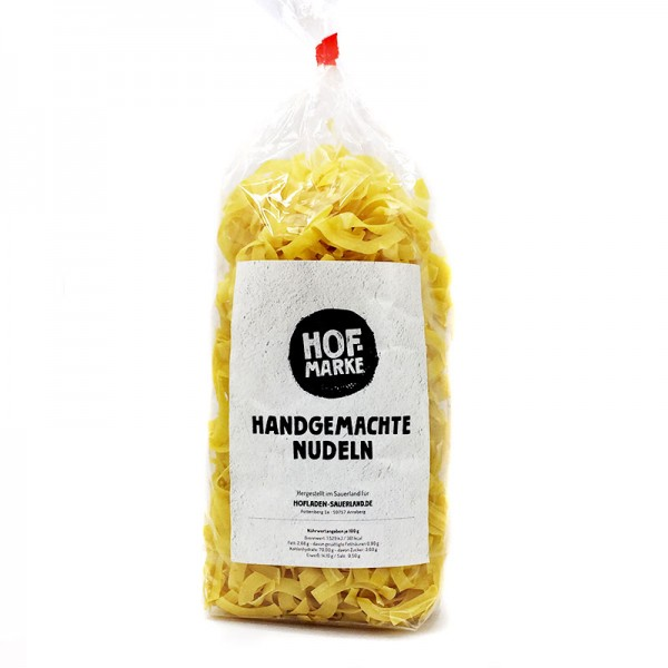 """Hofmarke"" Bandnudeln"